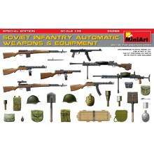 1:35 SOVIET INFANTRY AUTOMATIC WEAPONS & EQUIPMENT. SPECIAL EDITION