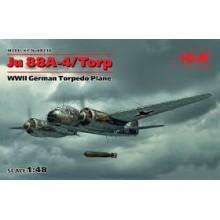 1:48 Ju 88A-4 Torp/A-17 WWII German Torpedo Plane