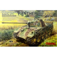 1:35 German Medium Tank Sd.Kfz.171 PANTHER con cañon metalico