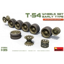 1:35 T-54 WHEELS SET. EARLY TYPE