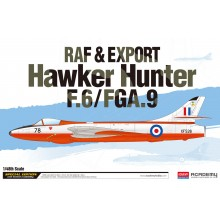1:48 F.6/FGA.9 HAWKER HUNTER RAF & EXPORT