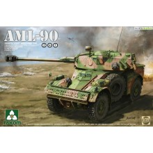1:35 French Light Armoured Car AML-90
