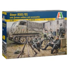 1:35 STEYR RSO/01 with GERMAN SOLDIERS
