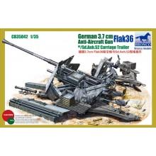 1:35 German 3.7cm Flak36