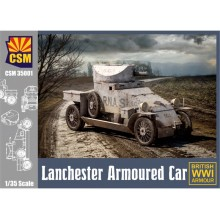 1:35 Lanchester Armoured Car