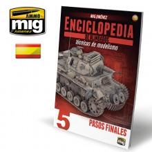 ENCICLOPEDIA DE TECNICAS DE MODELISMO DE BLINDADOS VOL. 5 - TOQUES FINALES (Spanish Ed.)