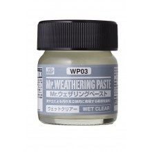 Mr. WEATHERING PASTE WET CLEAR
