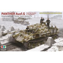 1:35 Panther Ausf.G w/ Interior Limited Edition