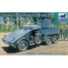 1:35 Armored Krupp Protze Kfz.69 with 3.7cm Pak 36 (late version)