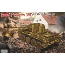 1:35 Panzer 38D mit Pz.IV Turm und 8cm PAW600