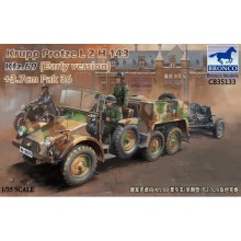 1:35 Krupp Protze Kfz.69 L 2 H 143 with 3.7cm Pak 36 (Early version)