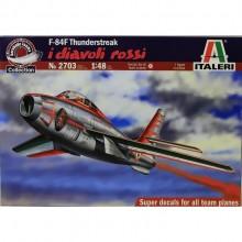 F-84F THUNDERSTREAK 'DIAVOLI ROSSI'