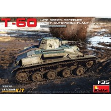 1:35 T-60 LATE SERIES, Screened (Gorky Automobile Plant) INTERIOR KIT