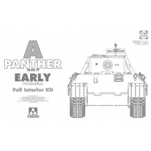 1:35 WWII German Tank Sd.Kfz.171 Panther A early production w/ full interior kit