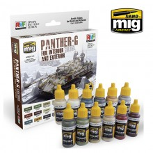 PANTHER G COLORS for interior and exterior (SPECIAL RYEFIELD EDITION)
