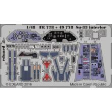Su-33 interior 1/48