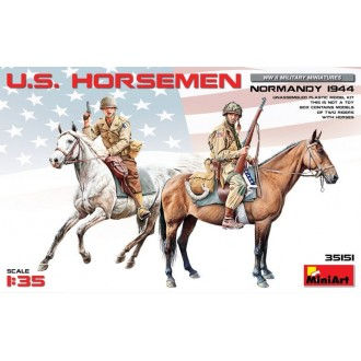 1:35 U.S. HORSEMEN. NORMANDY 1944