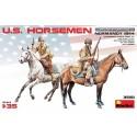 1:35 U.S. HORSEMEN. NORMANDY 1944