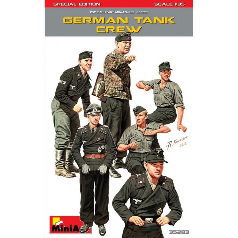 GERMAN TANK CREW. SPECIAL EDITION - https://www.pedromodel.com