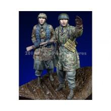 1/35 Fallschirmjaeger, Ardennes Set - 2 figs