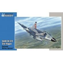 """SAAB SK-37E Stör-Viggen """"Electronic Warfare Agressor"""" 1/48"""
