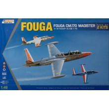 Fouga CM.170 Magister (2 kits)