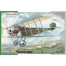 Fokker D. II 'Grünzweig`s Planes'
