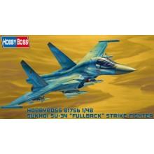 1:48 Russian Su-34 Fullback Fighter-Bomber