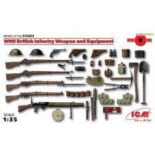 1:35 WWI BRITISH INFANTRY WEAPON AND EQUIPMENT