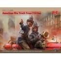 1/24 American Fire Truck Crew (1910s) (2 figures)