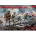 1:35 British Infantry in Gas Masks (1917)