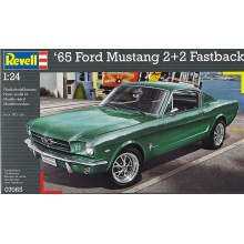'65 Ford Mustang 2+2 Fastback Kit 1/24