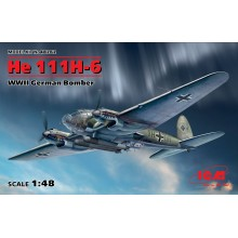 1:48 He 111H-6 WWII German Bomber