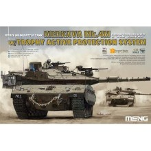 P1:35 Israel Main Battle Tank Merkava Mk.4M w/Trophy Active Protection System