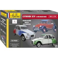 CITROEN 2 CV DECORATIONS SPECIALES 1/24