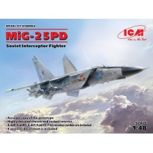 1:48 MiG-25 PD Soviet Interceptor Fighter