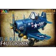 TIGER MODEL: Cute U.S F4U-4 Fighter