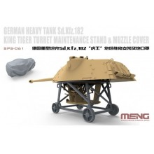 German Heavy Tank Sd.Kfz.182 King Tiger Turret Maintenance Stand & Muzzle Cover 1:48