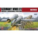 1:72 Germany WWII V1 Missile launching position 2 in 1