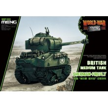 British Medium Tank Sherman-Firefly (CARTOON MODEL)