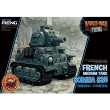 French Medium Tank Somua S-35 (CARTOON MODEL)