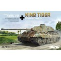 1:35 German Heavy Tank Sd.Kfz.182 King Tiger (Porsche Turret) with metal barrel