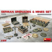 1:35 GERMAN GRENADES & MINES SET