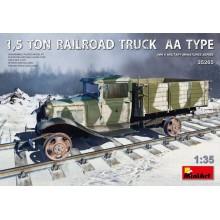1,5 TON RAILROAD TRUCK AA TYPE 1:35
