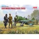 VVS RKKA Pilots (1939-1942р.) (3 figures)