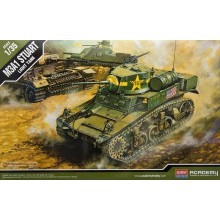 1:35 U.S. M3A1 STUART LIGHT TANK