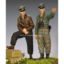 1/35 WSS Officer 44-45 Set - 2 figure