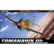 "1:48 P-40C TOMAHAWK IIB 'AFRICAN ACE""'"