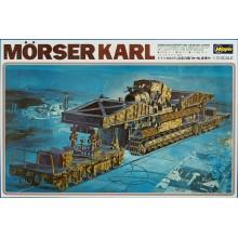 German Mörser Karl Railway Gun 60mm