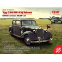 1:35 Typ 320 (W142) Saloon, WWII German Staff Car